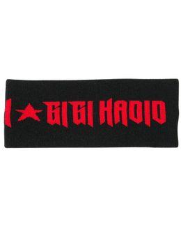 Intarsia Knit Headband Gigi Hadid