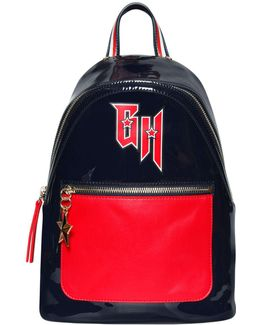 Two Tone Vinyl Backpack Gigi Hadid