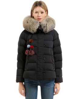 Takan Down Jacket W/ Fur Collar