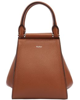 Small Soft Leather Top Handle Bag