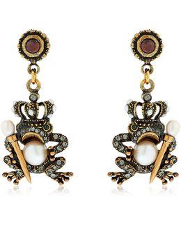 Yvonne & Brigitte Frog Earrings