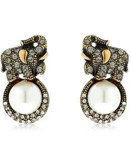 Elsa Elephant Earrings