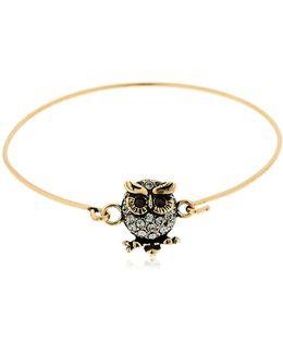 Loretta Owl Wire Bracelet