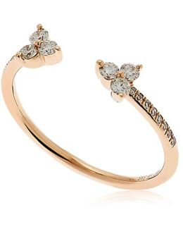 Open Trio Diamond Ring