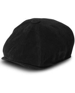 Hat, Moleskin Newsboy Cap