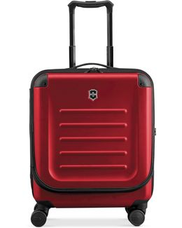 "Suitcase, 21"" Spectra 2.0 Rolling Hardside Extra Capacity Dual Access Carry On Spinner Upright"