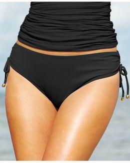 Side-tie Swim Brief Bottom