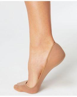 Women's Shade Match Hidden Sheer Liner Socks