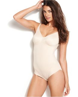 Extra Firm Control Molded Cup Comfort Leg Body Shaper 2802