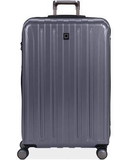"""Helium Titanium 29"""" Expandable Hardside Spinner Suitcase"""