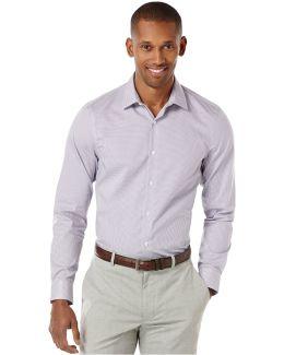 Gingham Button-front Shirt
