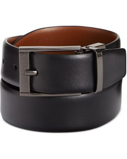 Reversible Feather Edge Soft Touch Cowhide Belt