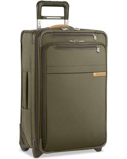 """Baseline 22"""" Expandable Wheeled Carry-on Suitcase"""