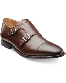 Sebato Double Monk Strap Shoes