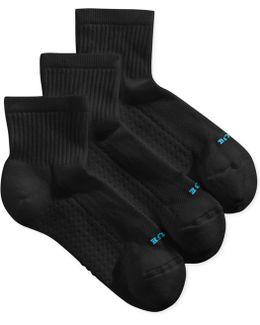 Air Cushion Mini Crew 3 Pack Socks