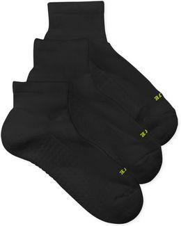Air Cushion Quarter Top Socks 3 Pack