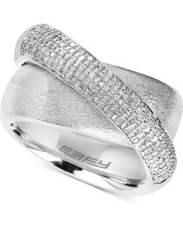 Diamond Ring (1/3 Ct. T.w.) In Sterling Silver