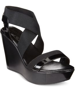 Feature Wedge Sandals