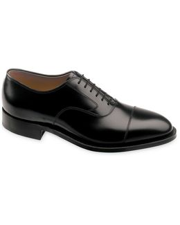 Shoes, Melton Cap Toe Oxfords