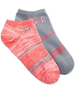 Grippy No Show Socks 2 Pack
