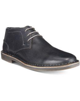 Desert Sun Leather Chukka Boots