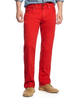 Men's Ricky Relaxed Straight Fit Colored Jeans