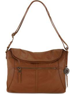 Leather Flap Shoulder Bag