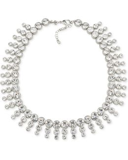Silver-tone Collar Necklace