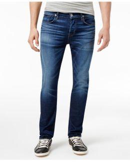 Men's Sartor Slouchy Skinny-fit Salt Water Wash Jeans