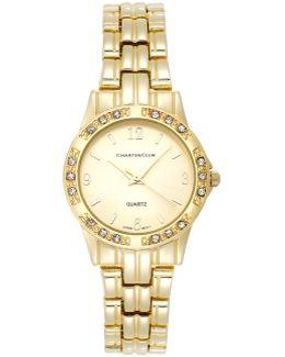 Women's Gold-tone Stainless Steel Bracelet Watch 31mm 16859