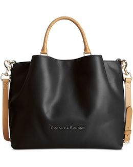Large Barlow Leather Tote
