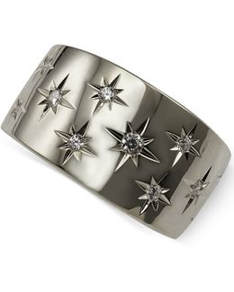 Diamond Star Band (1/6 Ct. T.w.) In 18k White Or Yellow Gold
