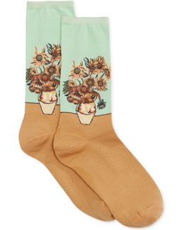 Women's Sunflower Socks
