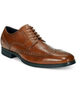 Men's Montgomery Wing Tip Oxfords Product Description