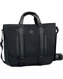 """Lexicon Professional Arbat 14"""" Expandable Laptop Messenger Bag"""