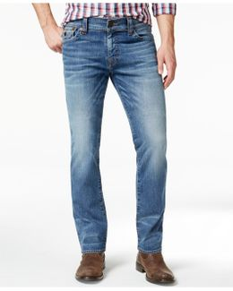 Men's Ricky Relaxed-straight-fit Flagstone Jeans