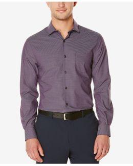Men's Big & Tall Iridescent Stripe Long-sleeve Shirt