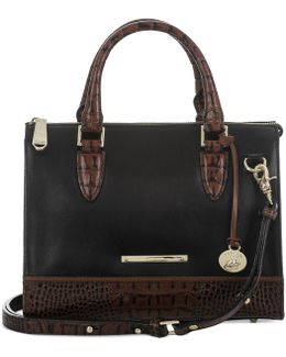 Tuscan Tri-texture Anywhere Convertible Satchel