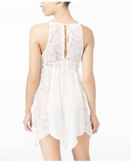 Flower Child Sheer Lace Chemise