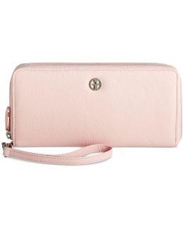 Softy Slim Zip Around Wallet