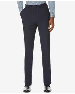 Men's Slim-fit Navy Pants