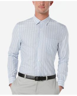 Men's Challen Striped Long-sleeve Shirt