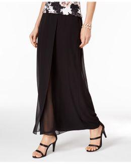 A-line Floor-length Skirt