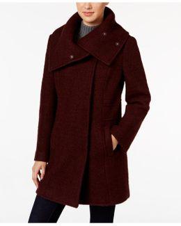 Textured-envelope-collar Walker Coat