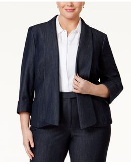 Three-button Blazer