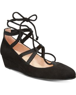 Twosome Lace-up Wedges