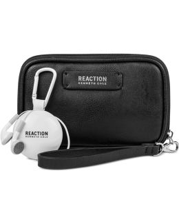 Take Charge Wristlet With Retractable Earbuds