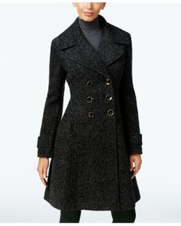 Double-breasted Mélange Peacoat