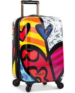 """Britto New Day 21"""" Hardside Spinner Suitcase"""