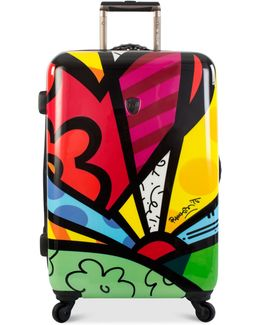 """Britto New Day 30"""" Hardside Spinner Suitcase"""